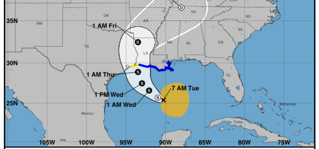 Potential Tropical Cyclone DumpAFlood is pushing its way toward the Louisiana Coast. Now I admit, there is a little bit of me that still has Katrina flashbacks, but DumpAFlood ain't […]