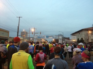 Looking toward the start on State Street.